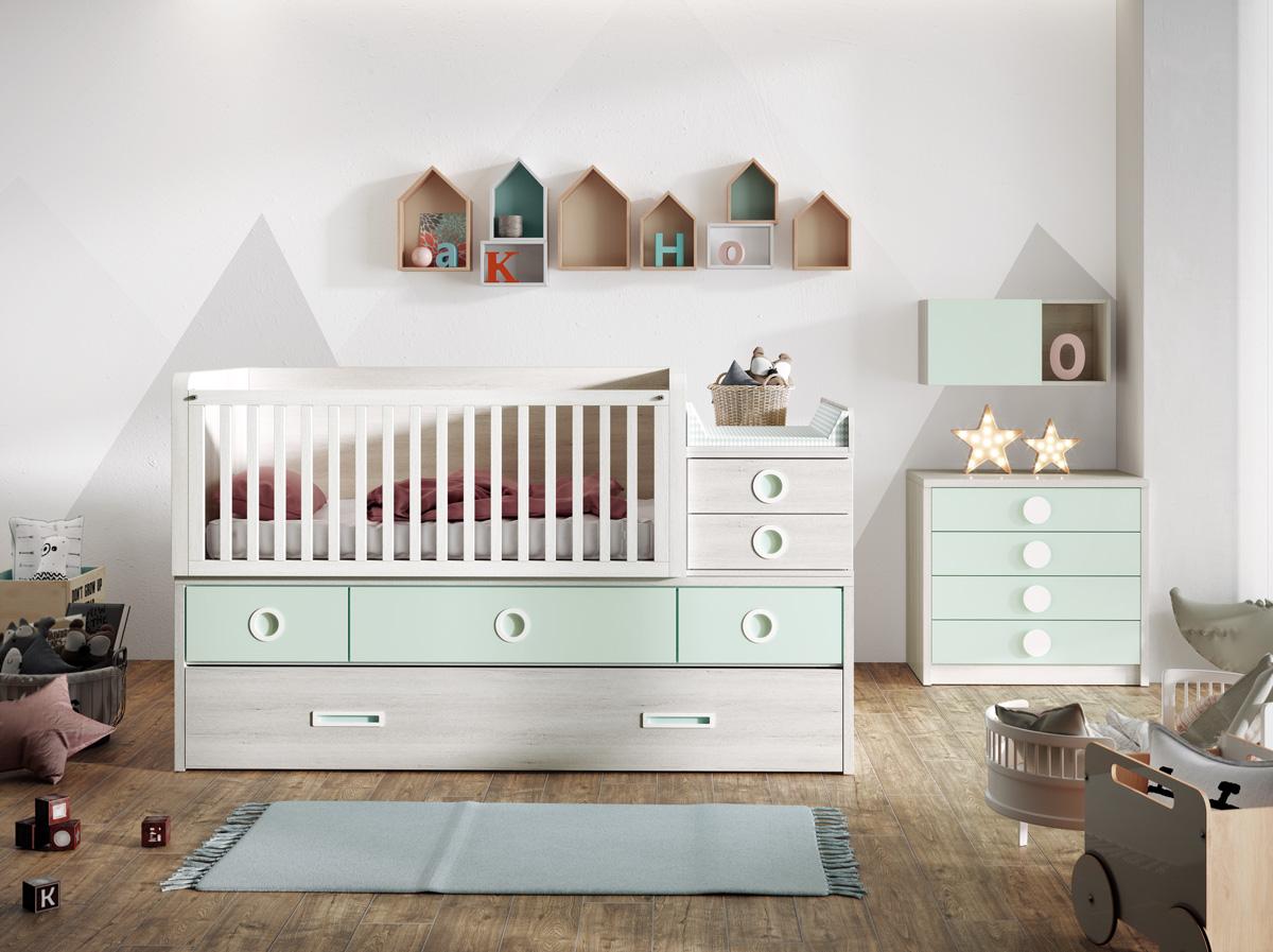 dormitorio juvenil, Juveniles, Muebles Yaiza